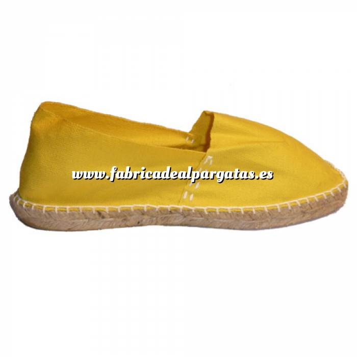 Imagen Amarillo CLASM Alpargata Clásica cerrada Mujer Amarillo Talla 38