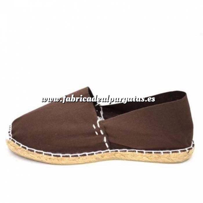 Imagen Marrón Chocolate CLASH Alpargata Clásica cerrada HOMBRE color MARRON CHOCOLATE Talla 45