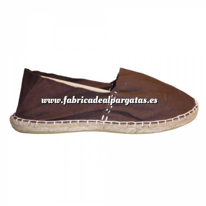 Imagen Marrón Chocolate CLASM Alpargata Clásica cerrada MUJER color MARRON CHOCOLATE Talla 40