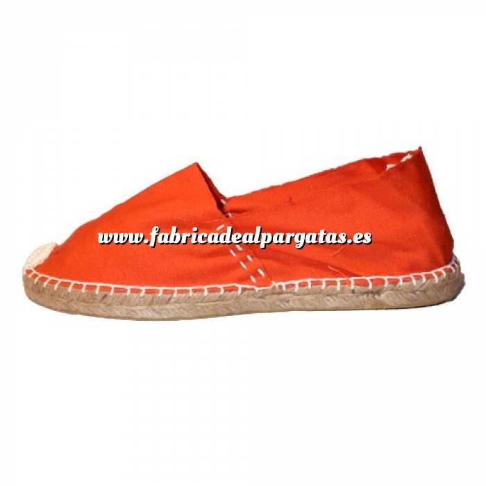 Imagen Naranja CLASM Alpargata Clásica cerrada MUJER color NARANJA Talla 36