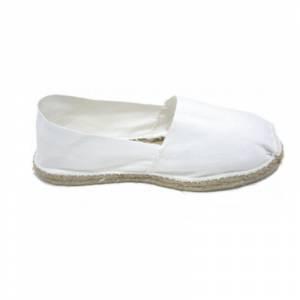 Blanco - Alpargata Española Hombre Blanco Talla 43