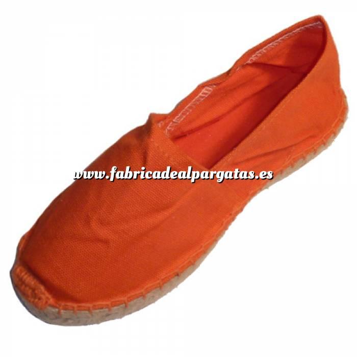 Imagen Naranja CLFR Alpargata Clásica Niño Forrada e Hilo al Tono Naranja Talla 32