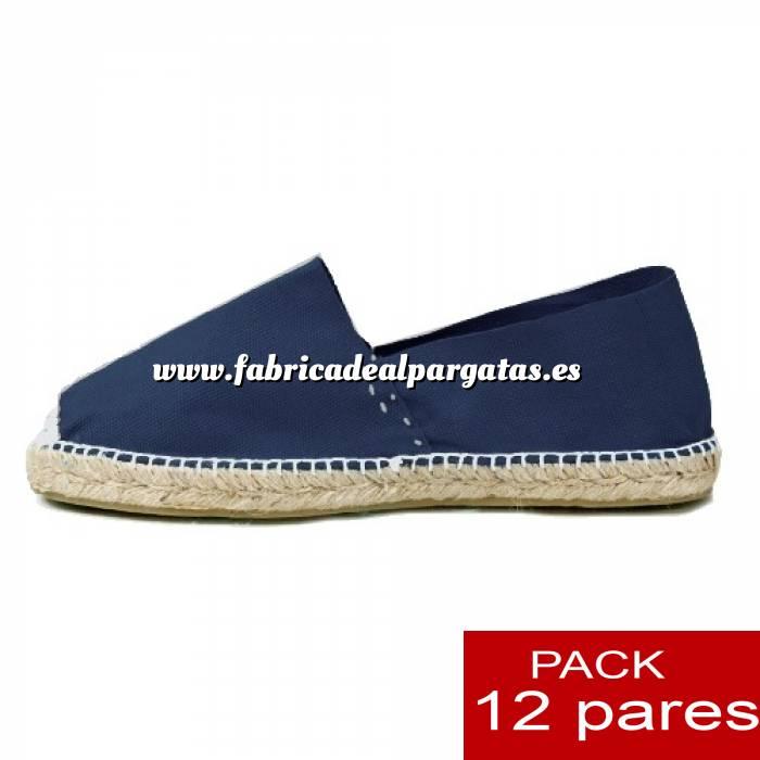 Imagen Para Niño Alpargatas Niño color MARINO LOTE de 12 uds (tallas 28-34)