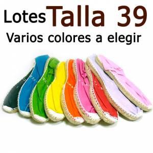 Alpargatas Elige Talla/Color_Talla 39