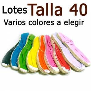 Alpargatas Elige Talla/Color_Talla 40