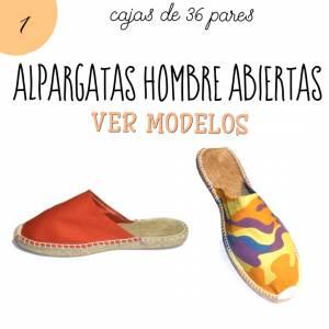 Alpargatas por CAJAS_Hombre Abiertas