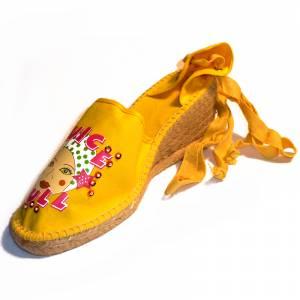 Amarillo - Mujer valenc. Diseño CH2267 Amarillo Talla 39