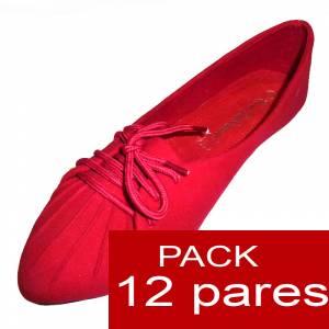 Arlequinas  - Arlequinas color rojo caja 12 pares (�ltimas Unidades)