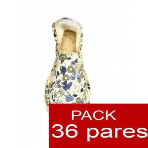 Imagen Mujer Estampadas Alpargata estampada FLORES MODELO A4 Caja 36 pares (Últimas Unidades)